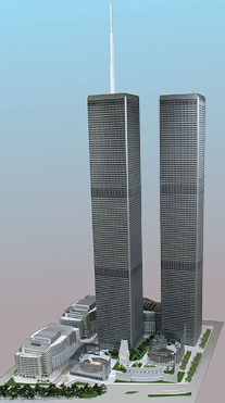 Model Of The Twin Towers
