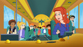 Ms. Frizzle and the class - the-magic-school-bus-rides-again photo