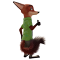 Nick Wilde fanmade Blender render - disneys-zootopia fan art