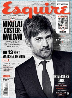 Nikolaj Coster-Waldau - Esquire Middle East Cover - 2016