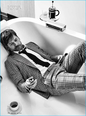 Nikolaj Coster-Waldau - Esquire Middle East Photoshoot - 2016
