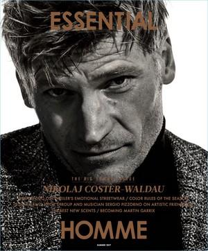 Nikolaj Coster-Waldau - Essential Homme Cover - 2017