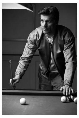 Nikolaj Coster-Waldau - প্রতীকী El Pais Photoshoot - 2019