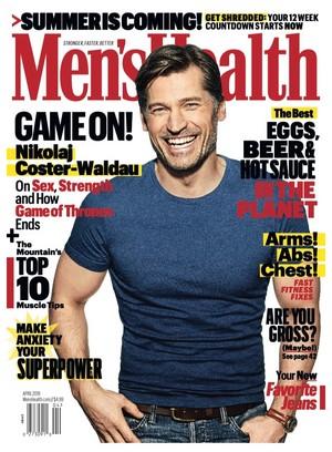 Nikolaj Coster-Waldau - Men's Health Cover - 2019