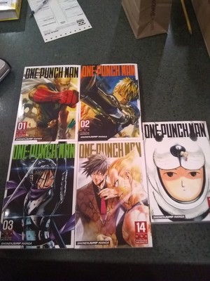 One punch, punzone Man manga