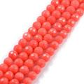 orange Coral Beads