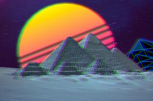 PYRAMID GIZA EGYPT कल्पना
