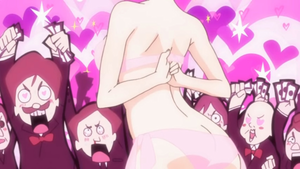 Panty and stocking, pantyhose with Garterbelt