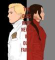Peeta/Katniss Fanart - The Odds Were Never In Our Favour - peeta-mellark-and-katniss-everdeen fan art