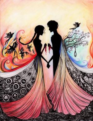 Peeta/Katniss Fanart - Together