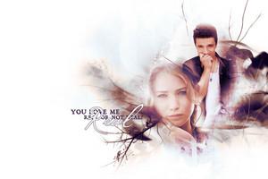 Peeta/Katniss wolpeyper - Real
