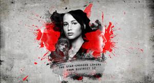 Peeta/Katniss wolpeyper - bituin Crossed mga manliligaw
