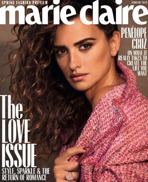 Penélope Cruz for Marie Claire