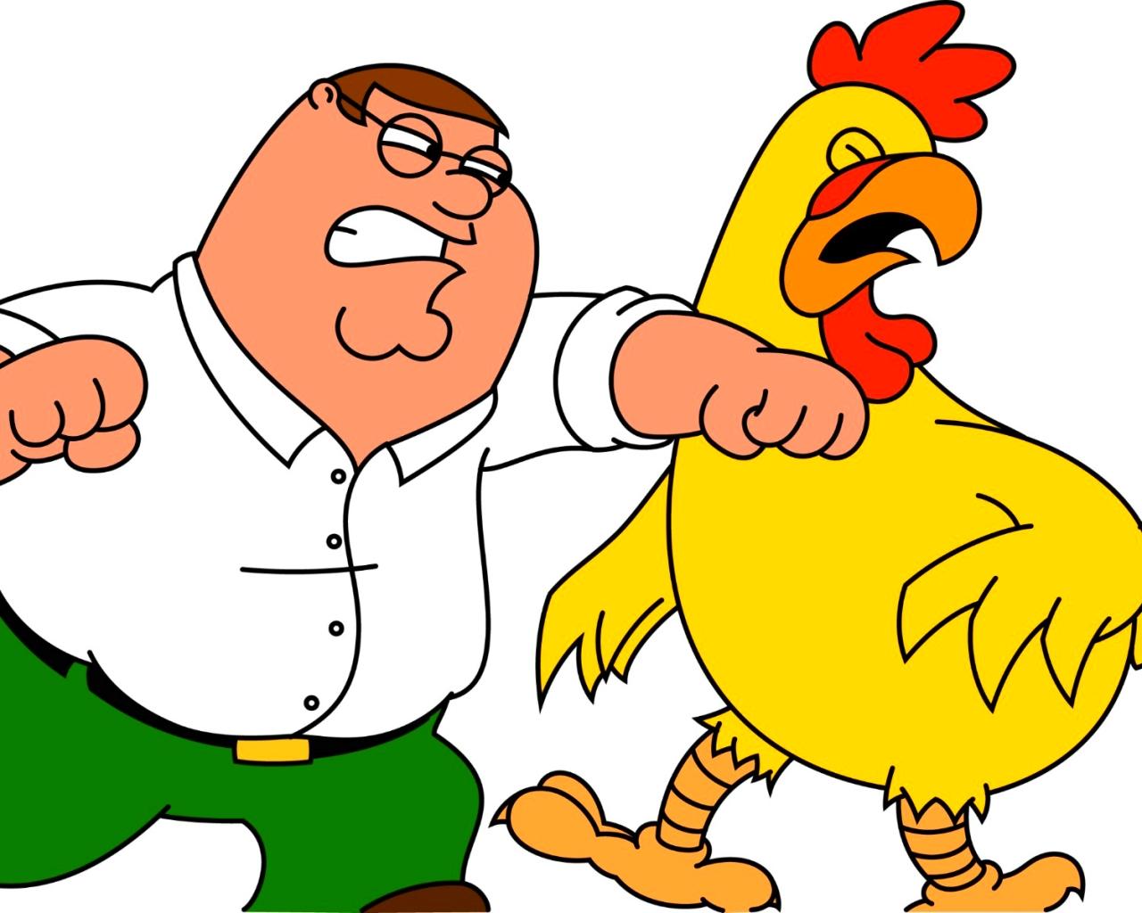 Peter Vs The Chicken Fox Cartoons Wallpaper 42669523