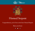 Pottermore - my Ilvermorny house - harry-potter photo