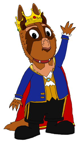 The Backyardigans Hintergrund entitled Prince Austin - Beast Form