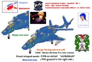 Purge Leg and Arm VFH-10G AGAC Auroran