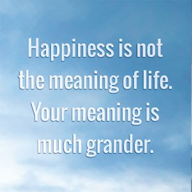 Quote Pertaining To Happiness