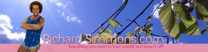 Richard Simmons Website Header