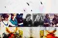 Ron/Hermione Wallpaper - romione fan art