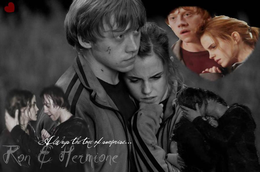 Ron/Hermione wolpeyper