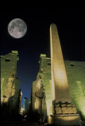SUPER MOON IN EGYPT