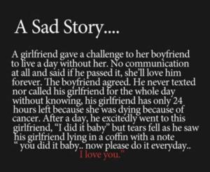 Sad Story <\3
