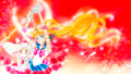 Sailor Moon n Chibimoon - sailor-moon wallpaper