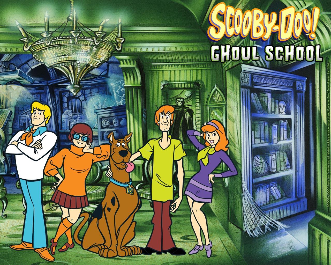 Scooby Doo Ghoul School