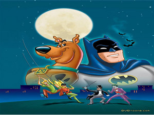 Scooby Doo Meats Bat Man And Robin