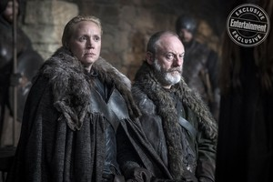 Season 8 Still - Brienne and Davos