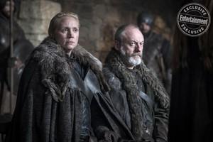 Season 8 Still - Brienne and Davos