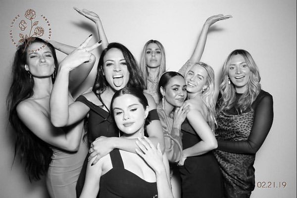 Selena at a Wedding in February 2019