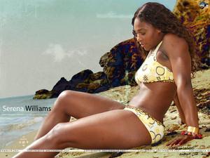 Serena Williams - সৈকত দেওয়ালপত্র