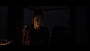 Shay Mitchell in The Possession of Hannah Grace
