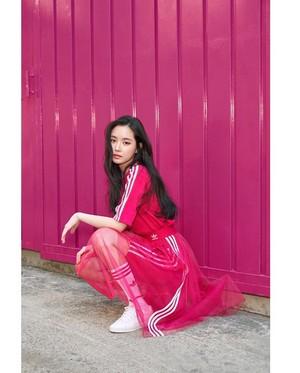 Son NaEun x ADIDAS 2019 photoshoot