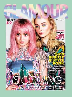 Sophie Turner ~ Glamour ~ Spring/Summer 2019