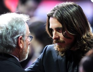Spielberg and Bale