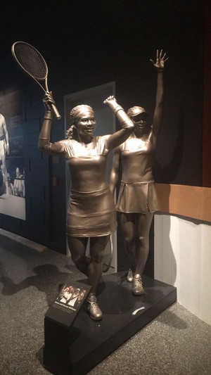 Statue Of The Williams Sisters