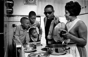 Stevie Wonder And His Family