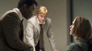 Still of Rhys Wakefield, Mahershala Ali and Stephen Dorff in True Detective Season 3