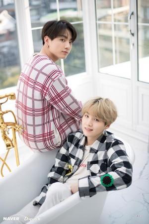 Suga and Jungkook