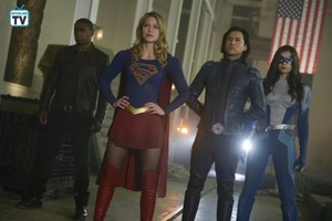 Supergirl - Episode 4.13 - What's So Funny About Truth, Justice, and the American Way - Promo Pics