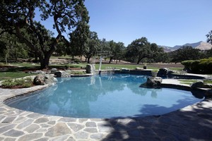 Swimming Pool Neverland Ranch