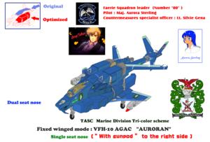 TASC,Marine Division VFH-12 Super Auroran (AGACS)