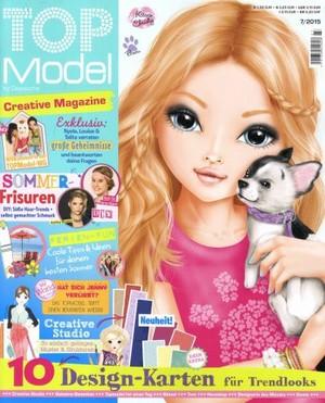 model top (UK) Magazine Cover