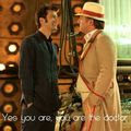 Tenth meets the Fifth Doctor *lol!*  - ktchenor photo