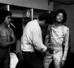 The Jacksons Backstage