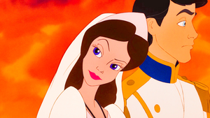 The Little Mermaid Screencaps - Vanessa & Prince Eric