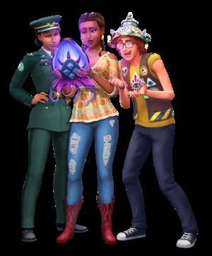 The Sims 4: StrangerVille Render